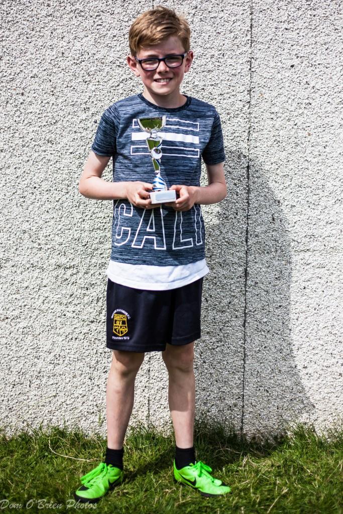 Ben O'Hara Player of the tournament